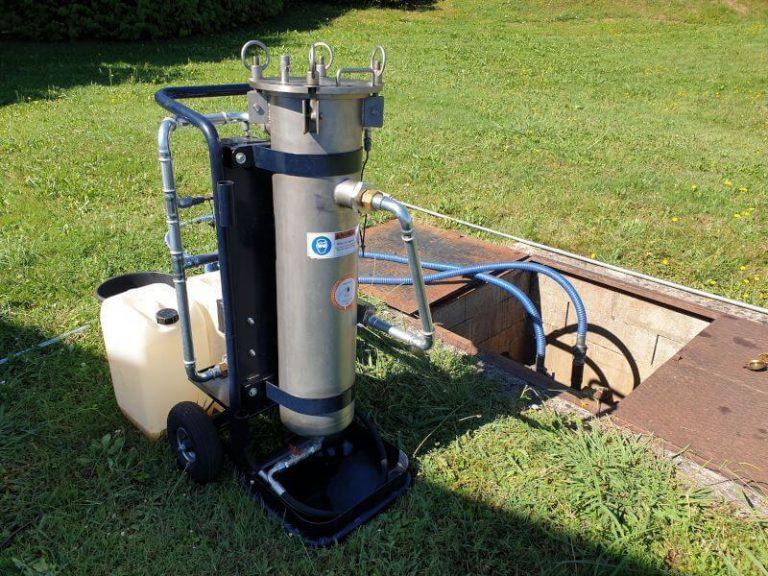 Filtration cuve EQC